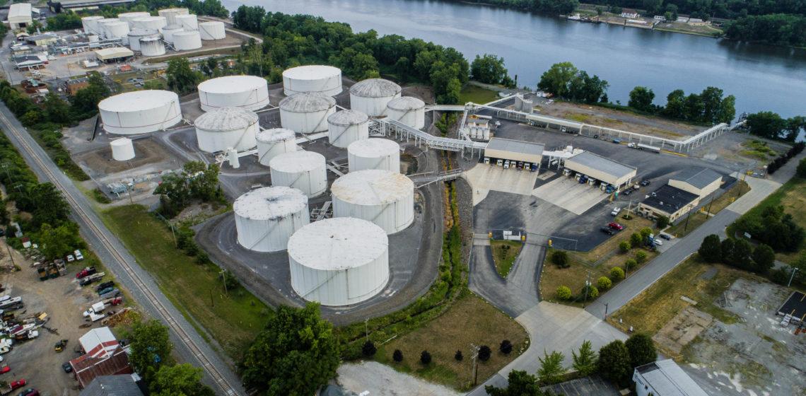 An aerial view of our facilities at Coraopolis, Pennsylvania.